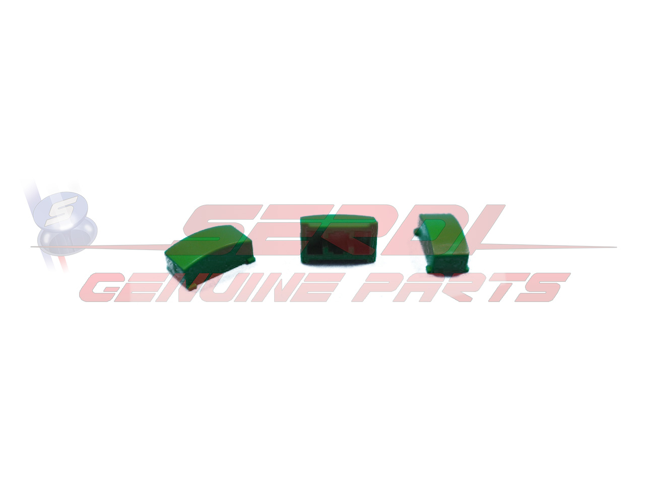 SET OF 5 GREEN SWITCH ACTUATORS