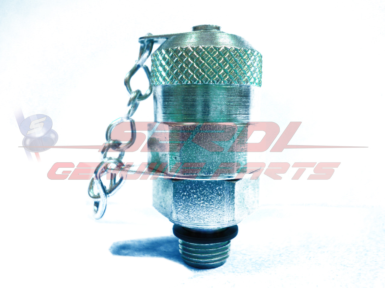 HYDRAULIC PRESSURE QUICK CONNECTION MALE G1/8 WITH COVER